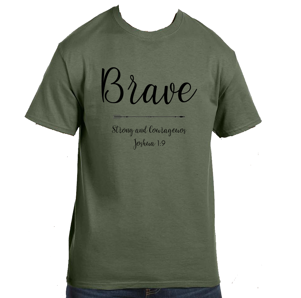 Military Green - Youth Sizes: XS-XLAdult Sizes: S-3XL100% pre-shrunk cotton