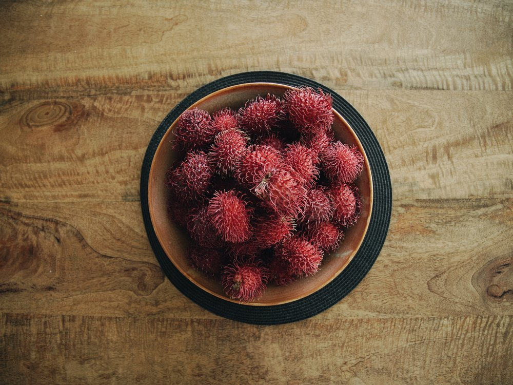 Gorgeous rambutan, provided by OK Farms.