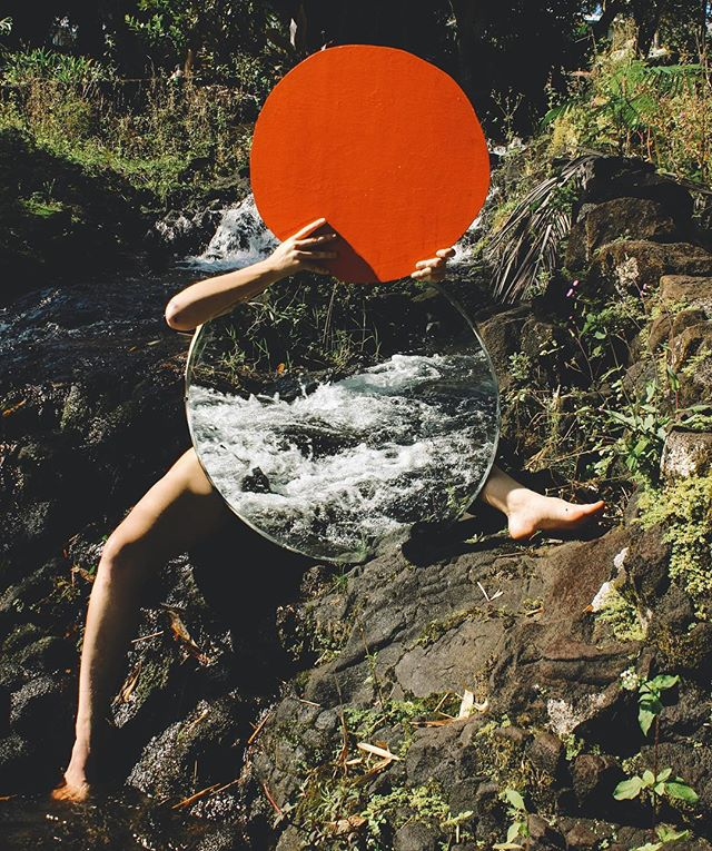 M🔴🔴D.  Image from @ellenrutt's series, 'Nothing is Separate: A Collaboration with Nature' 💦 📷: @miyaeuca  #templechildren #nothingisseparate