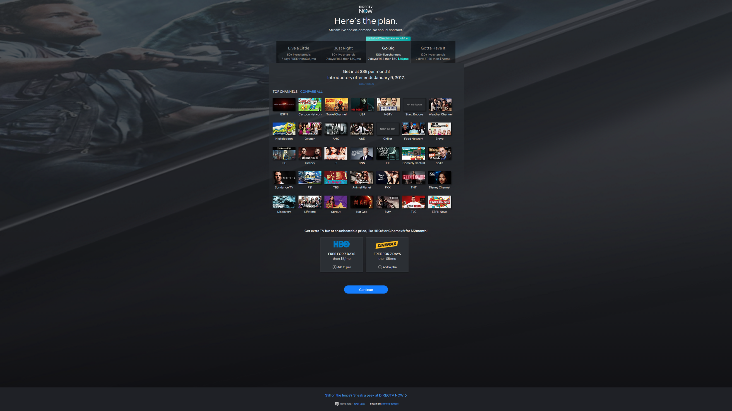Directv now review cable tv over the internet twistedcurve directv now review cable tv over the internet solutioingenieria Choice Image