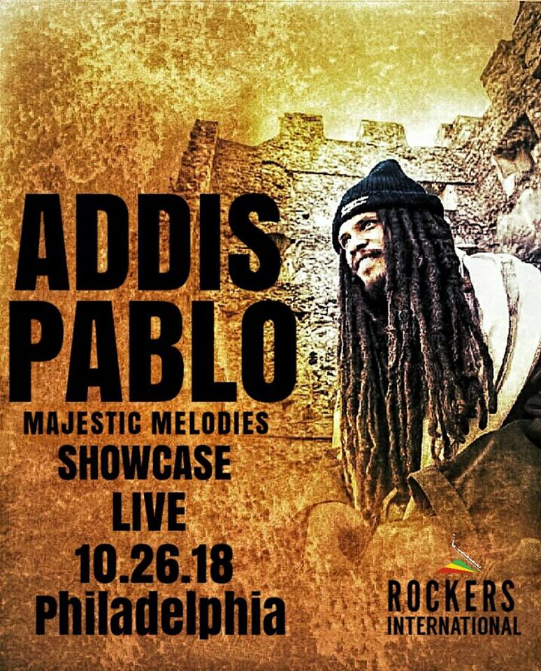 "ADDIS PABLO LIVE IN PHILLY w. selections by ISIS PABLO AKA ISIS SWABY  New Project, Majestic Melodies Ep LIVE ACOUSTIC PERFORMANCE SCREENING Q&A  ROTUNDA  4014 Walnut St, Philadelphia, PA 19104 Admission : $10 | Pay at door   ADDIS PABLO |  www.addispablo.com  Addis  Pablo is a melodica player and composer from Jamaica. The son of the  legendary Augustus Pablo, Addis and his sister Isis carry on their  father's musical heritage being in charge of their Fathers Estate,  creating events such as the Augustus Pablo Tribute in Jamaica and  contemporary art exhibits by Isis in Japan.  Addis following in  his father's footsteps has been producing his own music since 2008 and  touring globally for 6 years, his debut album titled ""In His Father's  House"" was released in 2014 and was received world wide with high  ratings. The project featured other Jamaican artists such as Exile Di  Brave, Earl 16, Prince Allah, Chezidech, and more. Some of the his other  projects include Suns of Dub x Walshy Fire Major Lazer Mixtape (2013),  Sizza x Suns Of Dub ""Jah Jah Solve Dem"" (2014), and Suns of Dub ""Far  East Mixtape"" with Mighty Crown (2015), and his most recent projects  ""Majestic Melodies"" mixtape (2017)  and the Majestic Melodies Ep (2018)  Addis'  tours have taken him throughout the world delivering his father's music  and memory to his father's fans as well as delivering his own music to a  new generation of fans. He has toured throughout Europe, The UK, The  United States , Hong Kong, Singapore. Malaysia Indonesia and Japan. He  has opened for acts such as Inner Circle,The Mighty Diamonds and Earl  Chinna Smith. Addis has been featured on major international reggae  festivals including Garance Reggae Festival, Reggae Jam, Reggae On The  River, and Uppsala Reggae Festival in Sweden.   Recent highlights  include Addis Pablo selling out the Jazz Cafe in London in April of  2018.   In June of this year, Addis and his sister Isis Swaby payed  tribute to Pablo at the Apple Store in Williamsburg Brooklyn with a DJ  Set by Isis and performance by Addis.  They were also invited to speak  about their Father at a Sonos (Speaker Brand) Event celebrating  International Reggae Day on July 1st .   ISIS PABLO AKA ISIS SWABY 