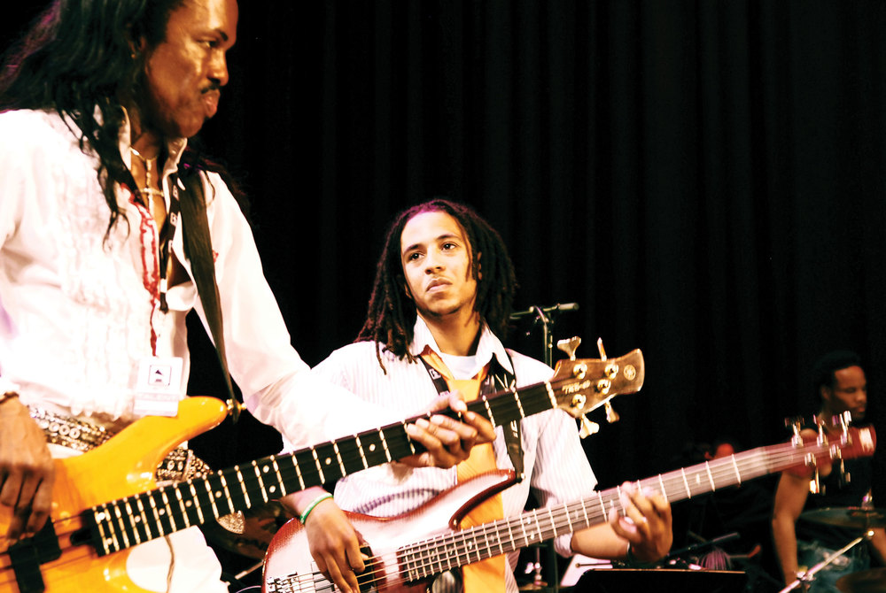Verdine White leads Earth, Wind & Fire Day