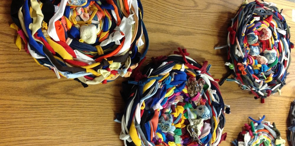 Grade 2 student Original Creations representing their conceptual understanding of Interdependence.
