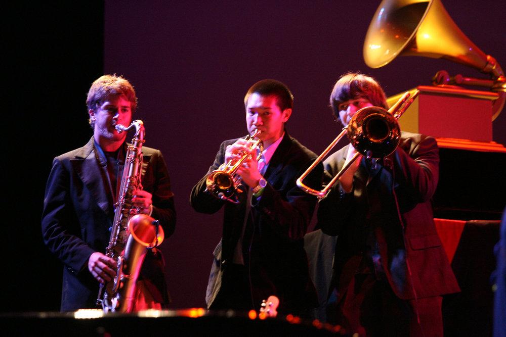 saxophone | trumpet | trombone