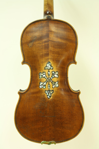 Unlabeled Inlaid Violin - SOLD