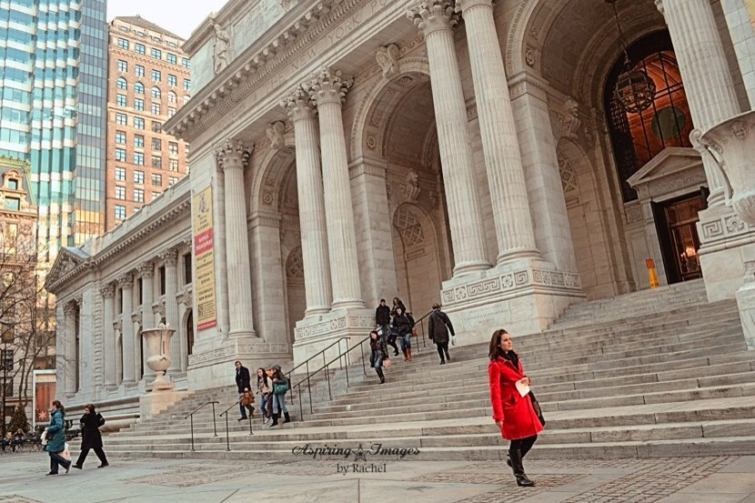 AspiringImagesbyRachel-NYC-Library-RedCoat-wm