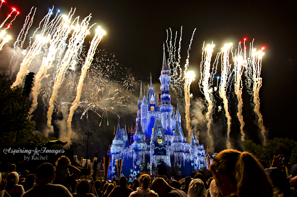 Magic Kingdom Fireworks by Aspiring Images by Rachel