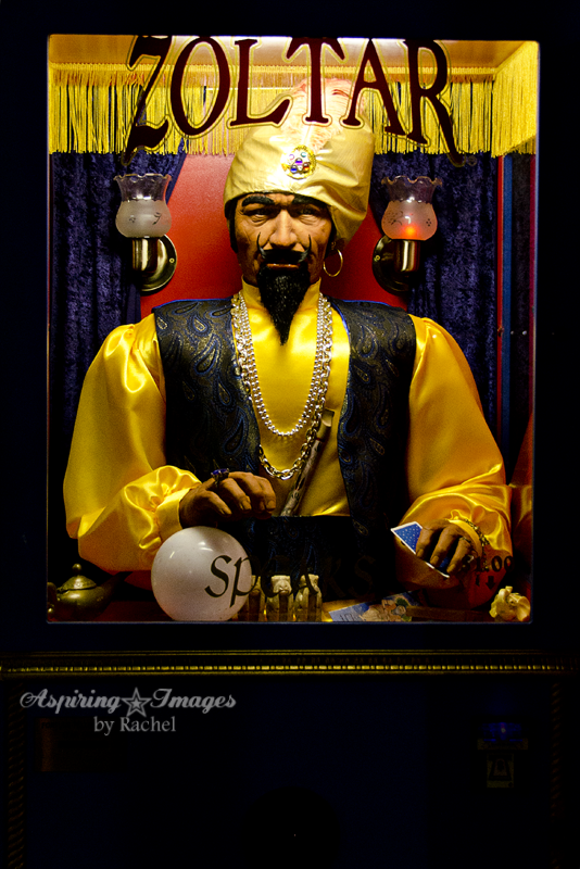 California - Santa Monica Pier Zoltar by Aspiring Images by Rachel