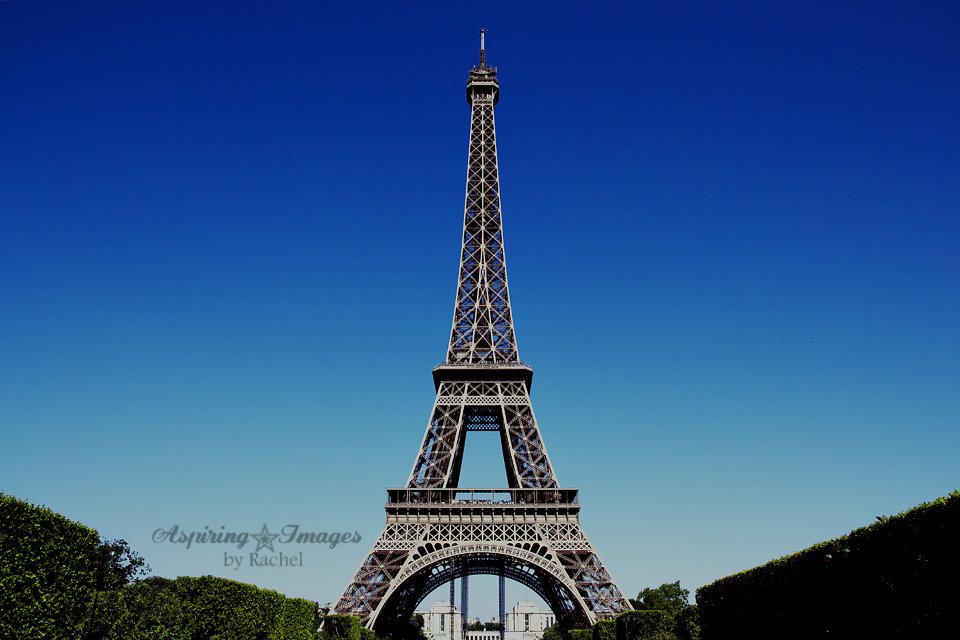 Paris - Eiffel Tower by Aspiring Images by Rachel