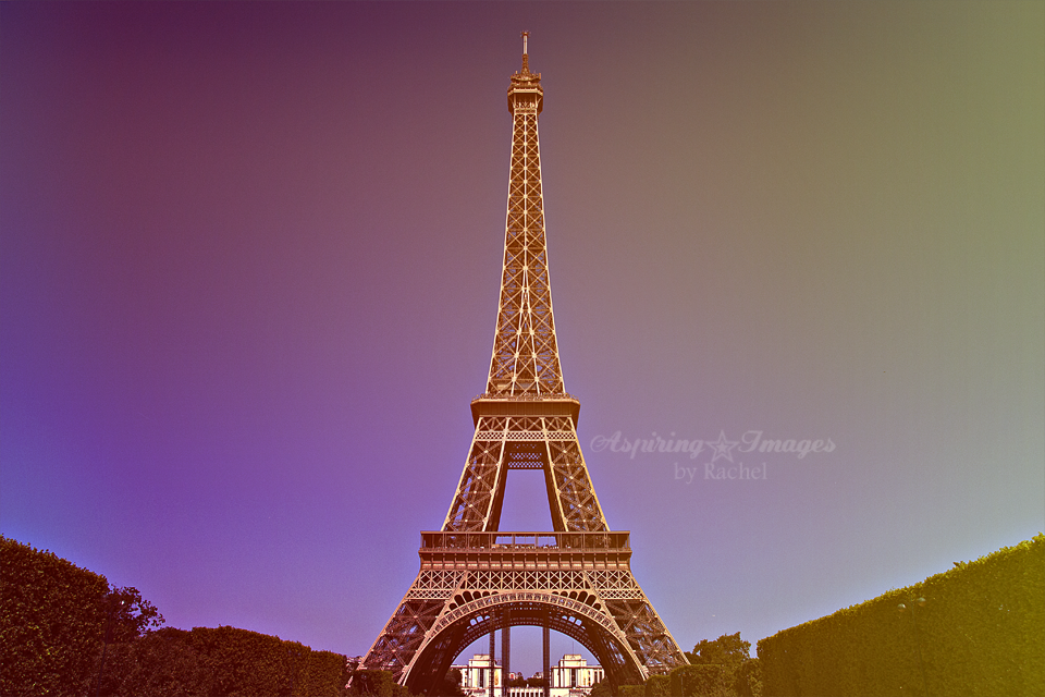 Eiffel Tower To Your Heart's Content | Paris Photography by Aspiring Images by Rachel