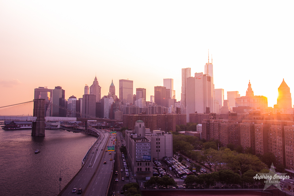 AspiringImagesbyRachel-NYC-Skyline-RoadandBridge-atSunset