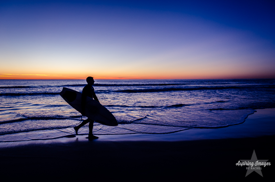 AspiringImagesbyRachel-California-SanDiego-Surfer-BlueSunset