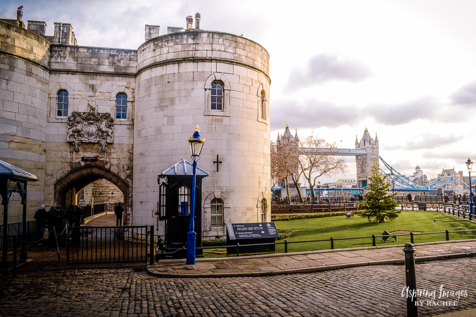 Tower of London and Tower Bridge - London, England