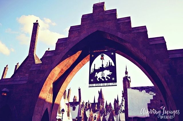 "Please respect the spell limits while entering Hogsmeade!  Anyone else stoked to see the new movie ""Fantastic Beasts and Where to Find Them""? Countdown to November."