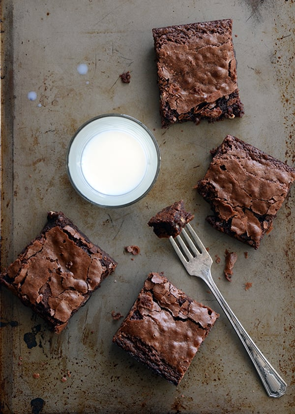 Chewy chocolate brownie | An Edible Mosaic