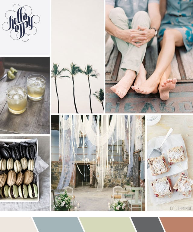 Inspiration board: Party planner for couples retreat_coco and mingo