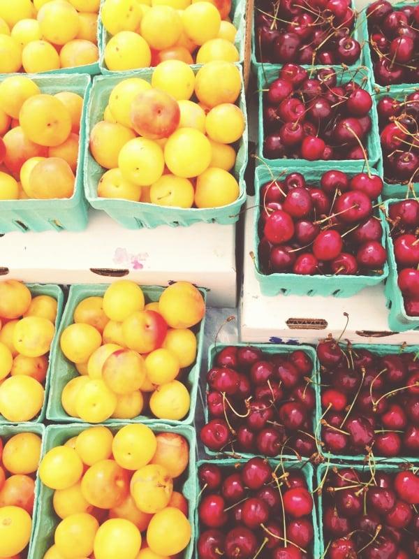 farmer's market, Instagram, weekend