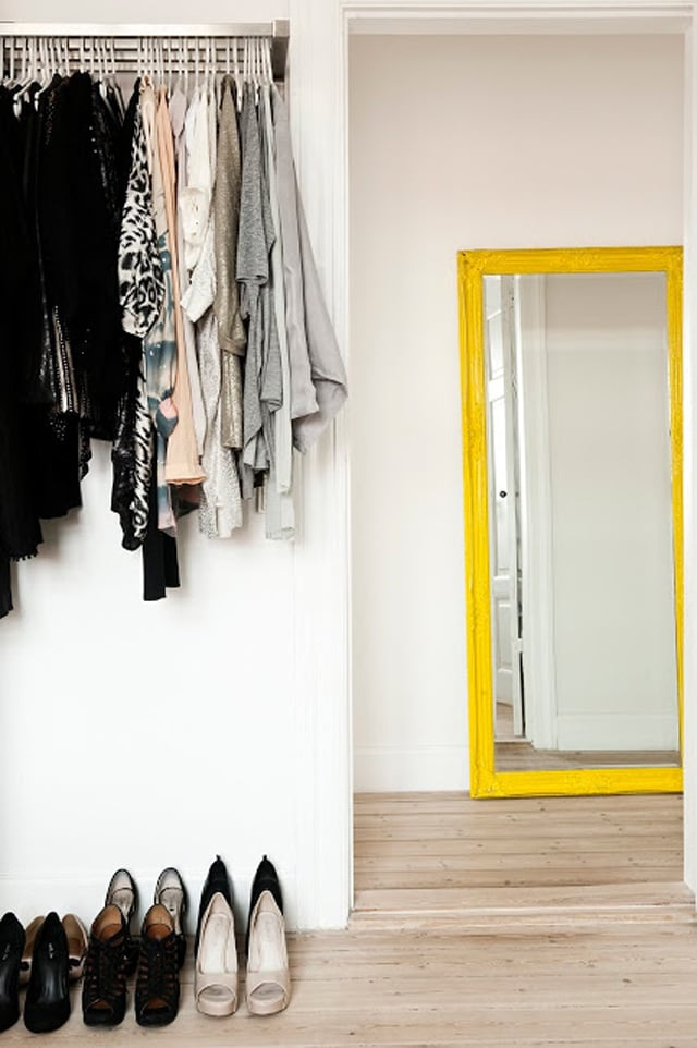 yellow mirror | My Scandinavian Home