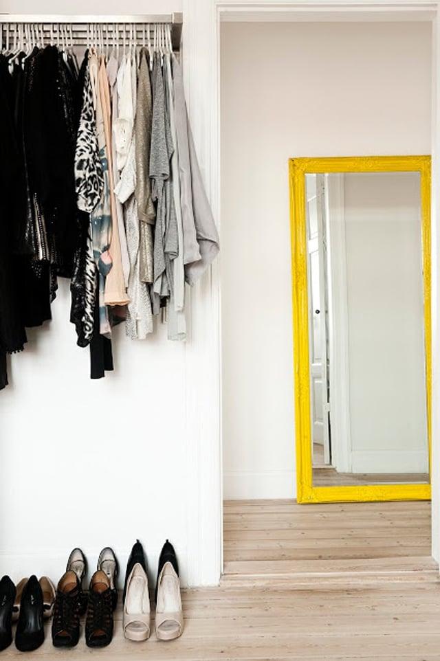 yellow mirror | My Scandinavian Home