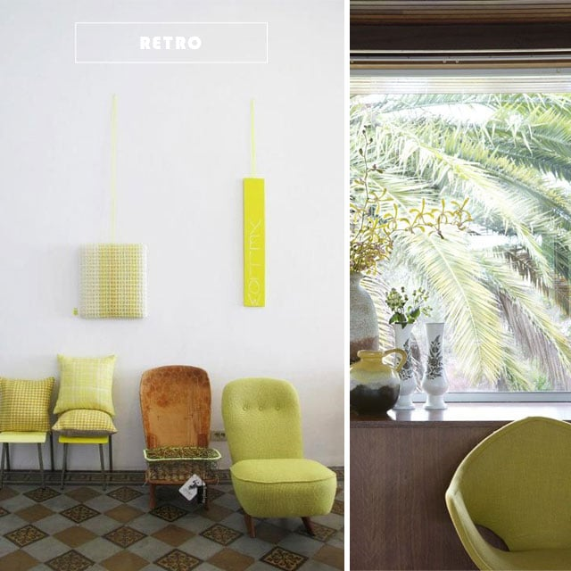chartreuse home interiors #inspiration