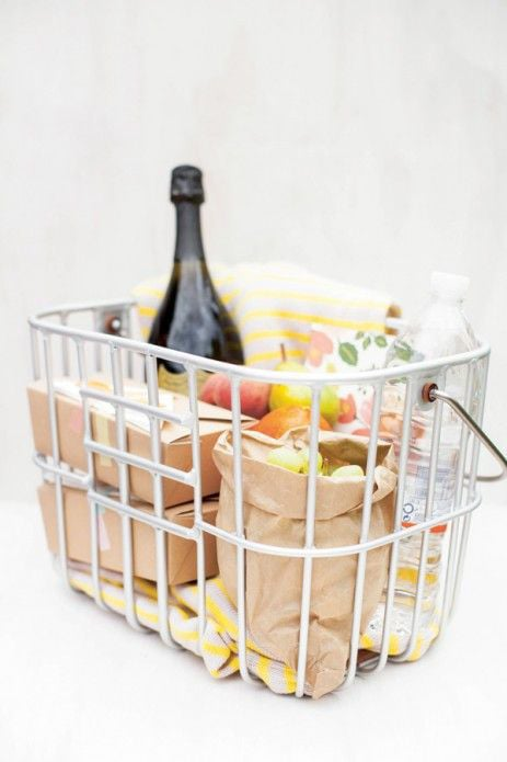 bright picnic basket | Fete Press