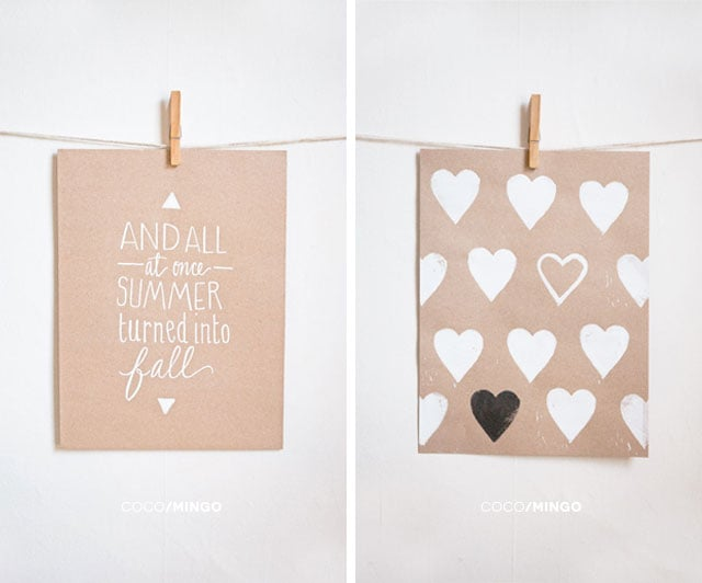 summer fall hearts triangles print_coco and mingo