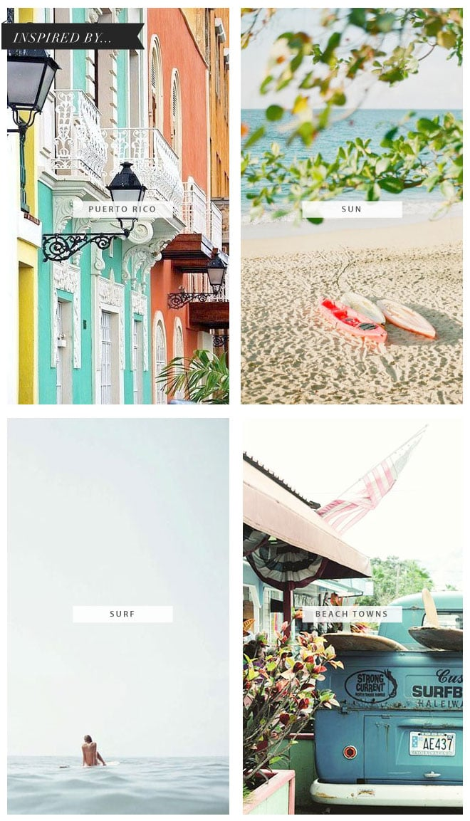 Inspired by travel: Puerto Rico via Coco and Mingo