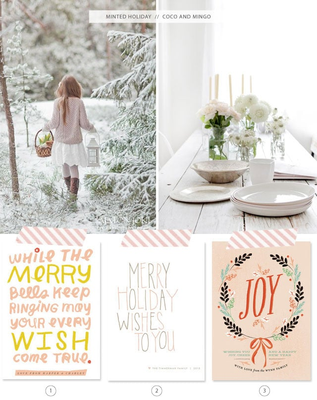 Minted Holiday cards_coco and mingo