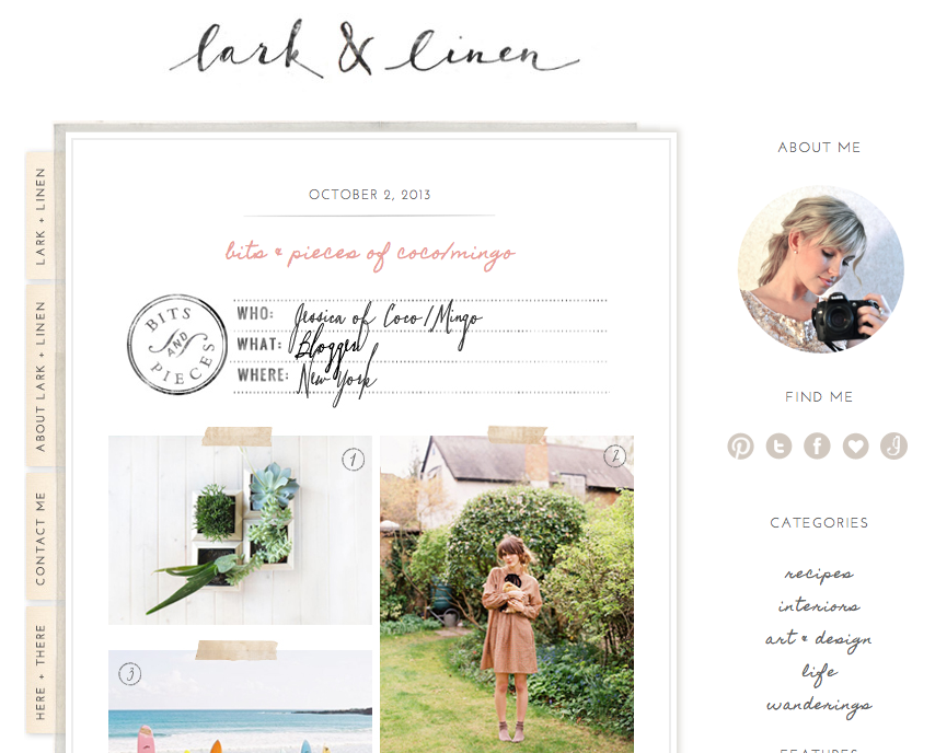 Guest post Lark & Linen_coco and mingo