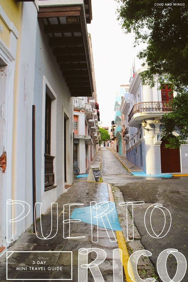 mini travel guide to Puerto Rico_via Coco and Mingo