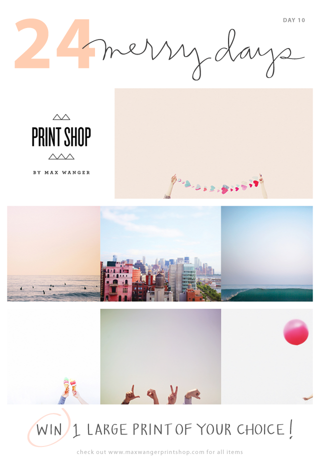 Max Wanger print shop_24 Merry Days_giveaway