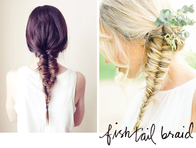Marks and Spencer_Grammy red carpet hair_Fishtail braid