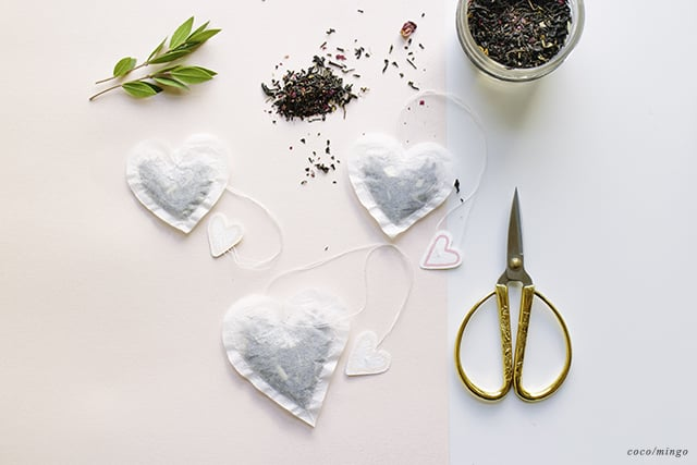 DIY_heart tea