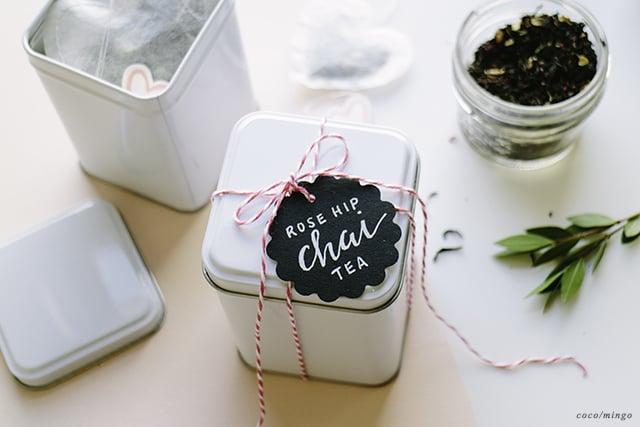 DIY_heart tea packaging