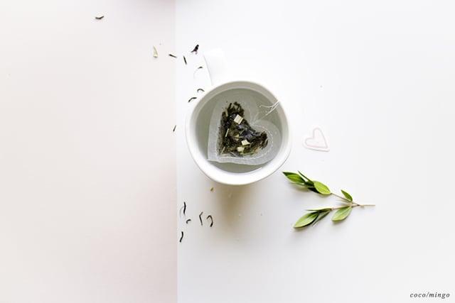 DIY_heart tea