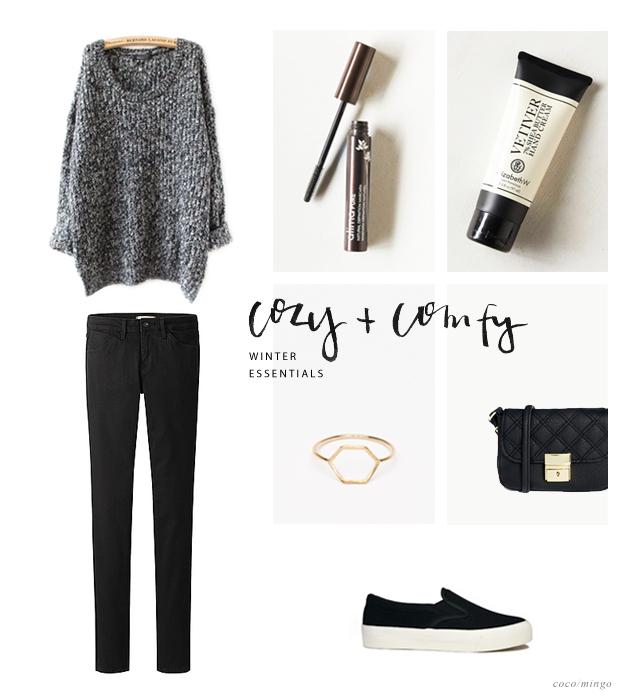 comfy winter essential fashion