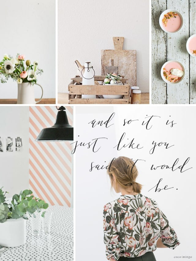 sweet peach inspiration board