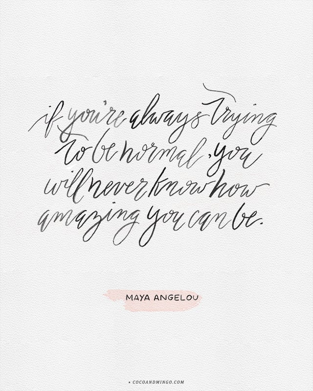 Maya Angelou quote, inspiration, motivation