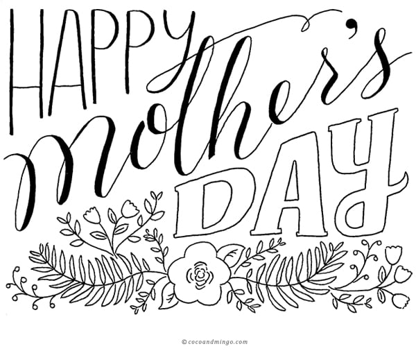 Mother's day 2014, free Mother's day card, download, printable