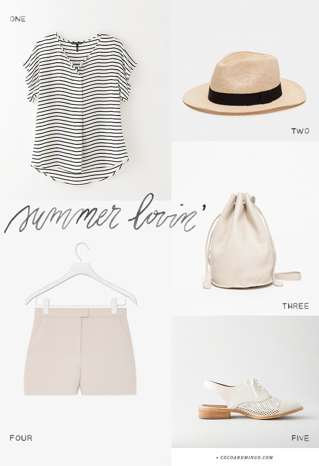 Summer outfit, need supply co, cos, steven alan