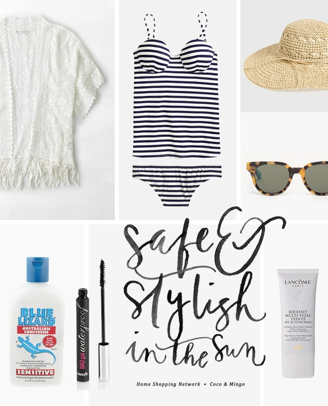 Home Shopping Network, summer, safety in the sun, skincare, beach wardrobe, fashion