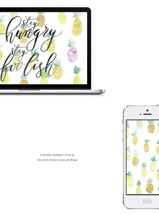 downloadable wallpaper, freebies, free wallpaper download, calligraphy, hand lettering, This Little Street, watercolor, free wallpaper download, freebies