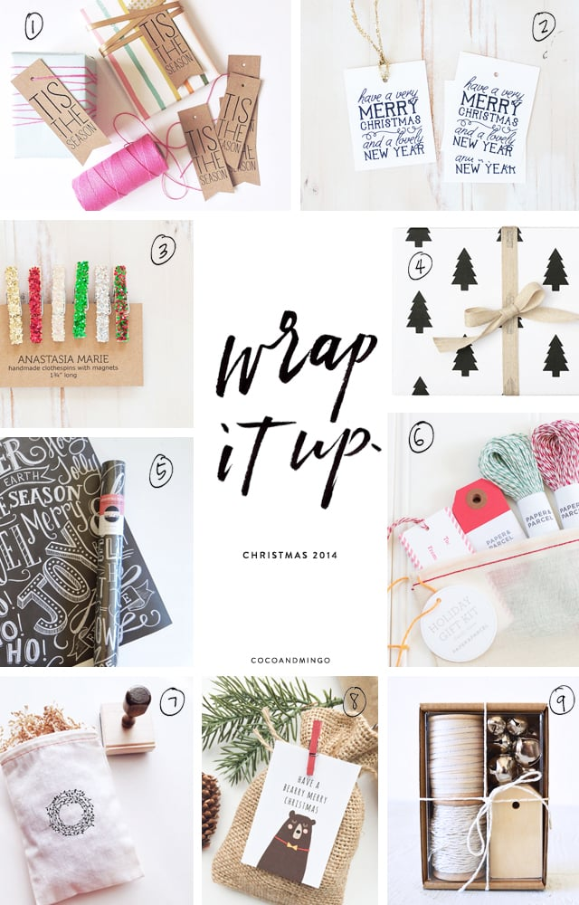 DIY gift ideas, wrapping, gift wrapping, Christmas 2014, holidays