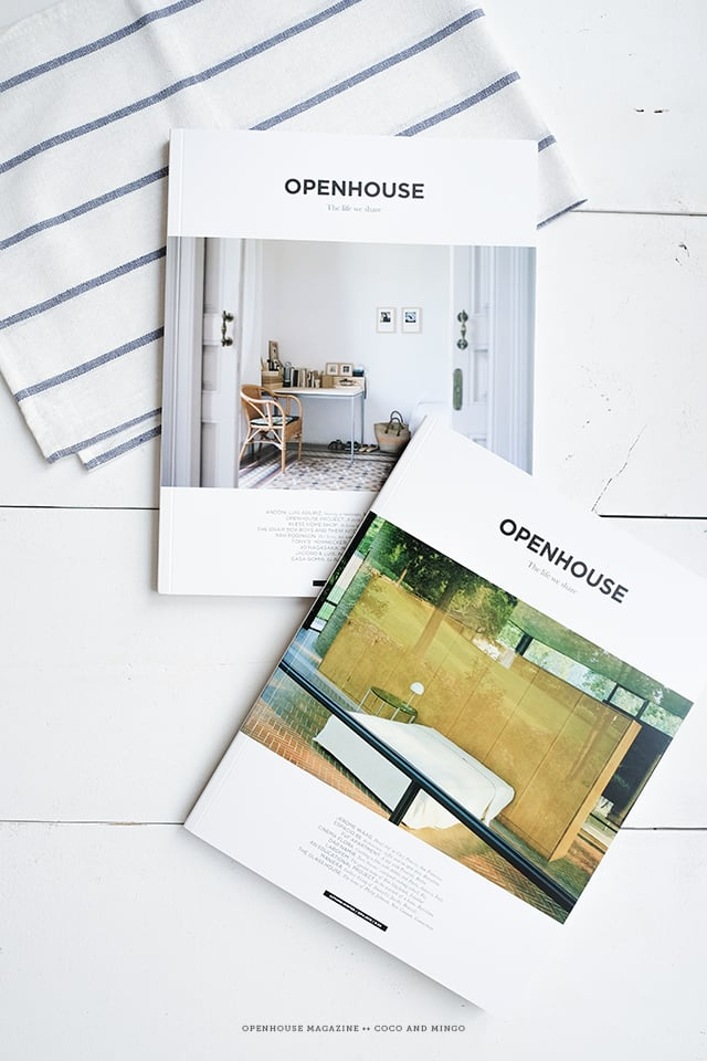 Openhouse publication, magazine, interior design, world culture,  coffee table book, architecture, food, recipes, lifestyle, Giveaway, freebies, coffee table magazine