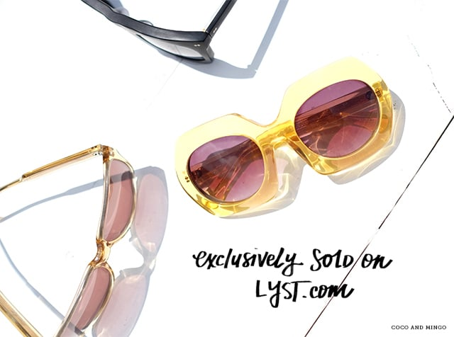Steven Alan, Ditto, Lyst, sunglasses, Summer wear, wardrobe, collaboration