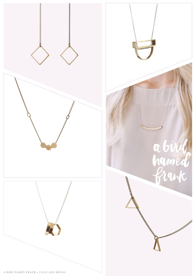 A bird named frank, Jewelry, accessories, minimalist jewelry, South Africa, geometric,