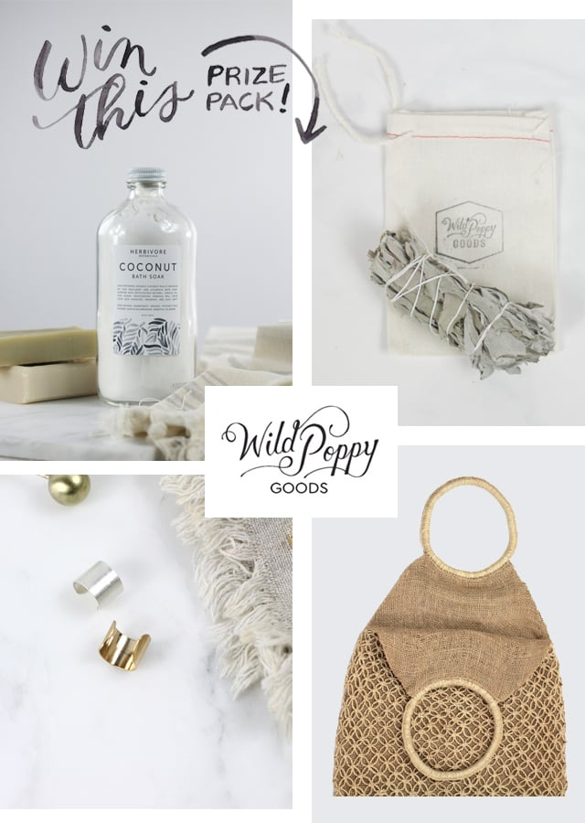 Wild Poppy Goods, giveaway, Dream shop collective, holiday gift ideas, Christmas 2015, vintage, hand made, well made, cleansing, balancing, restorative, calming, small business, shop small, independent shops, online boutique