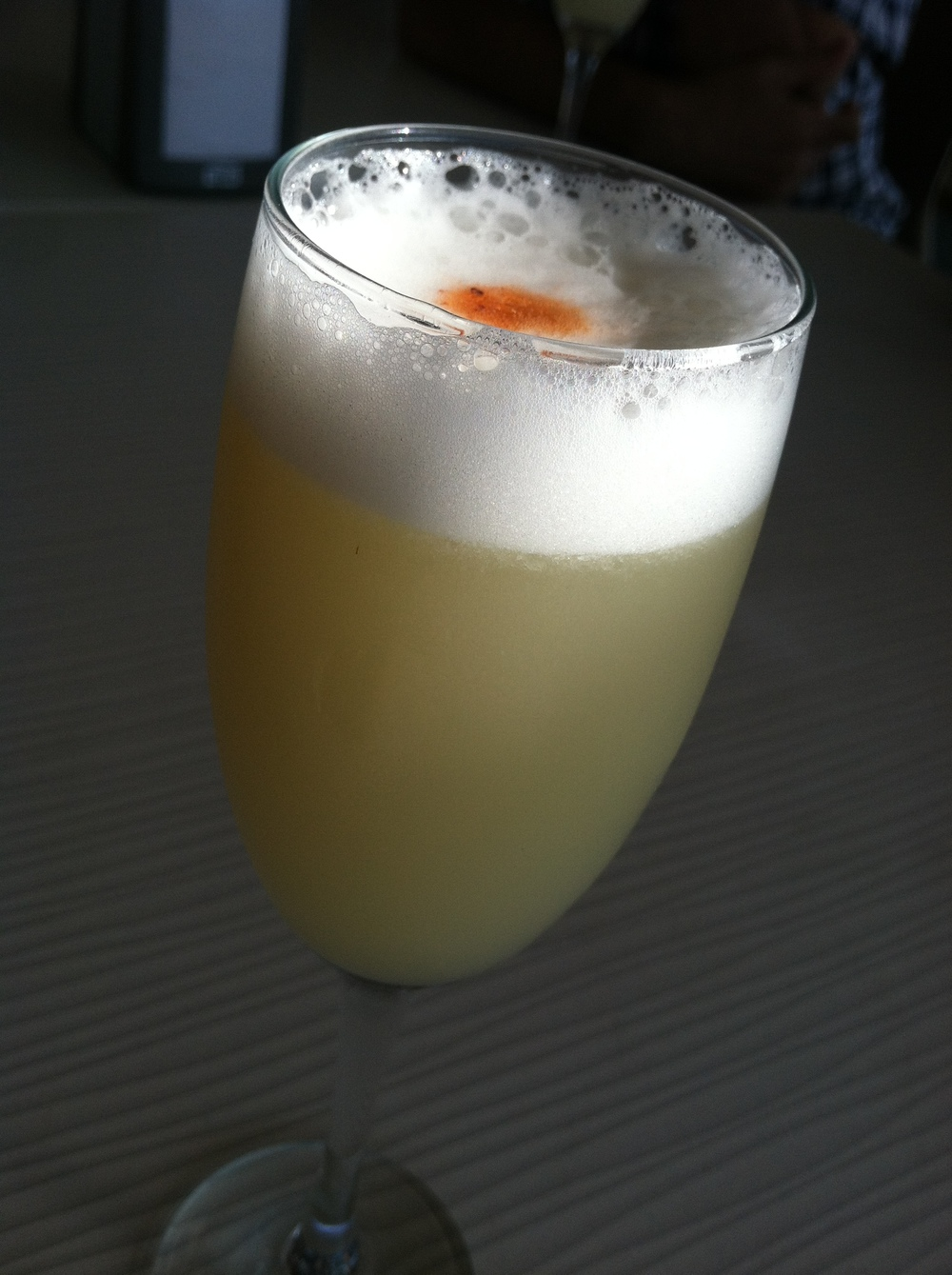 Pisco Sour with Tabasco (Vina del Mar)