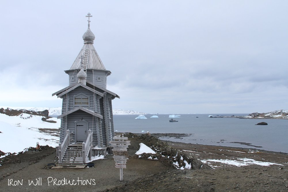 russian church antarctica