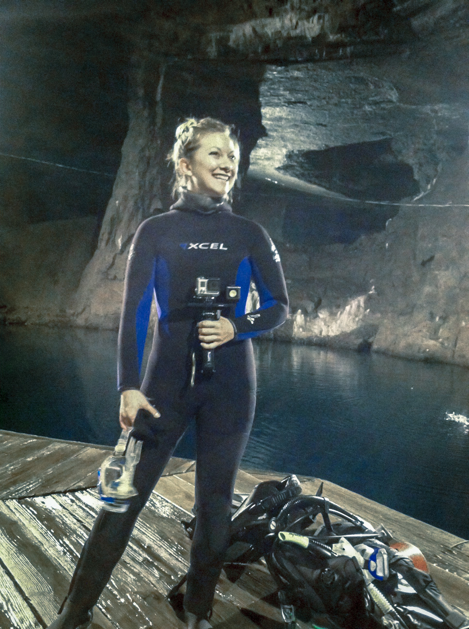 Scuba diving the bonne terre lead mines